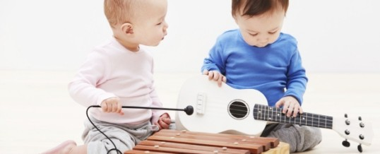 Music helps babies learn speech, study suggests