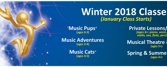 Winter Class Registration is NOW OPEN!