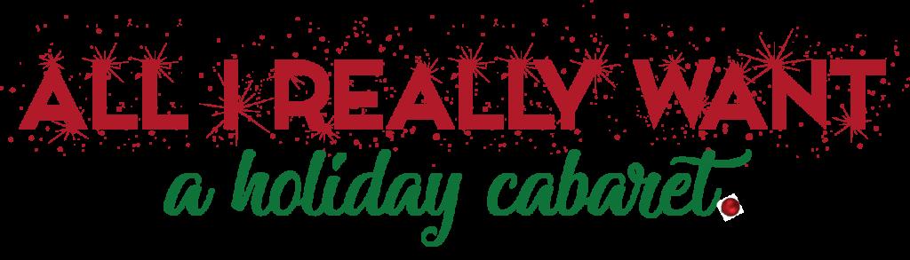 All I Really Want - December 2019 Logo
