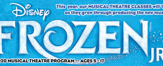 NEW MUSICAL THEATRE CLASSES ADDED!